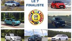 Car of the Year 2021: le sette finaliste