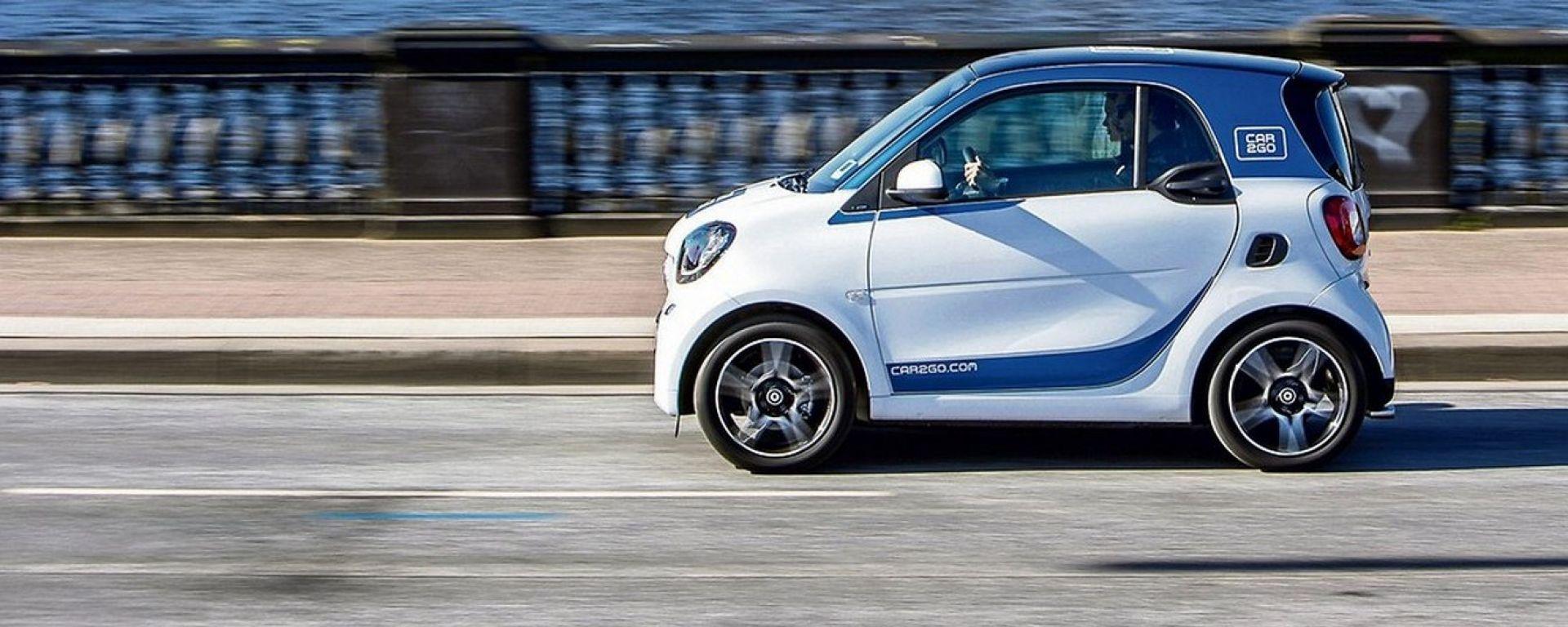 car sharing elettrico, banco di prova per la mobilità del futuro