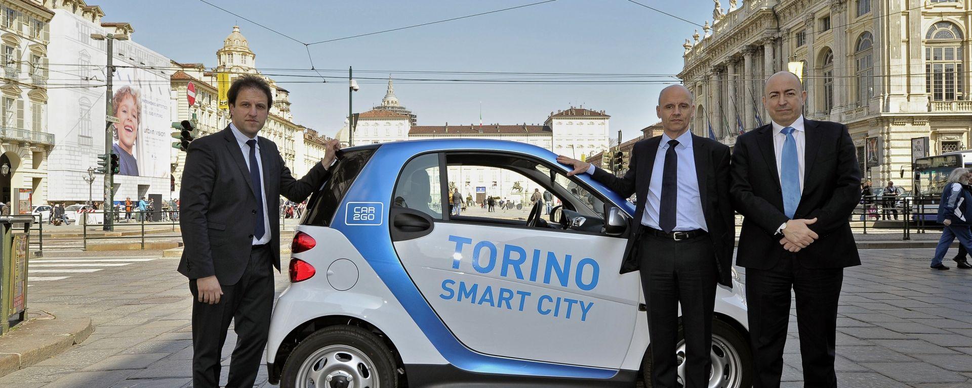 car2go approda a Torino