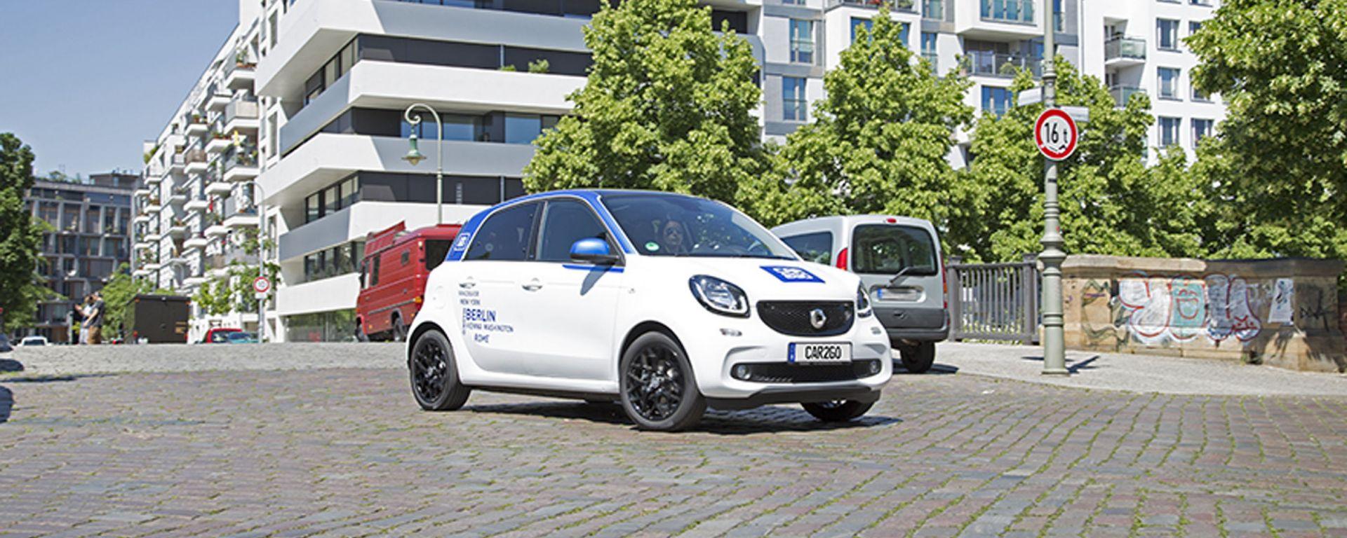 car2go: da settembre a Milano sarà disponibile anche la nuova smart forfour