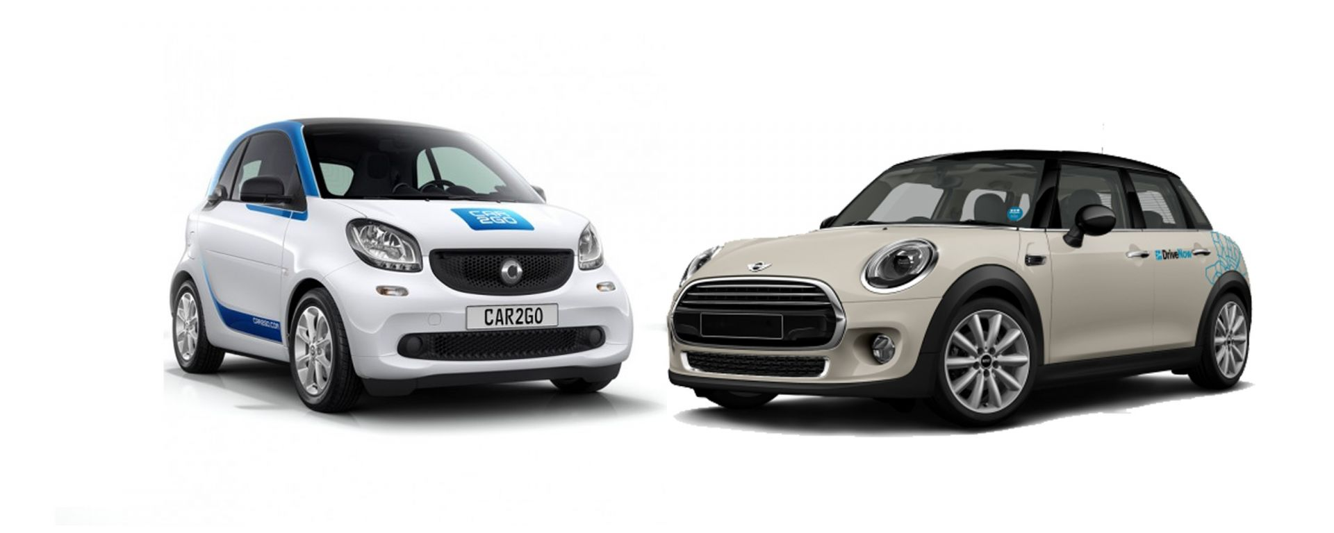 Car2go e DriveNow: matrimonio in vista?