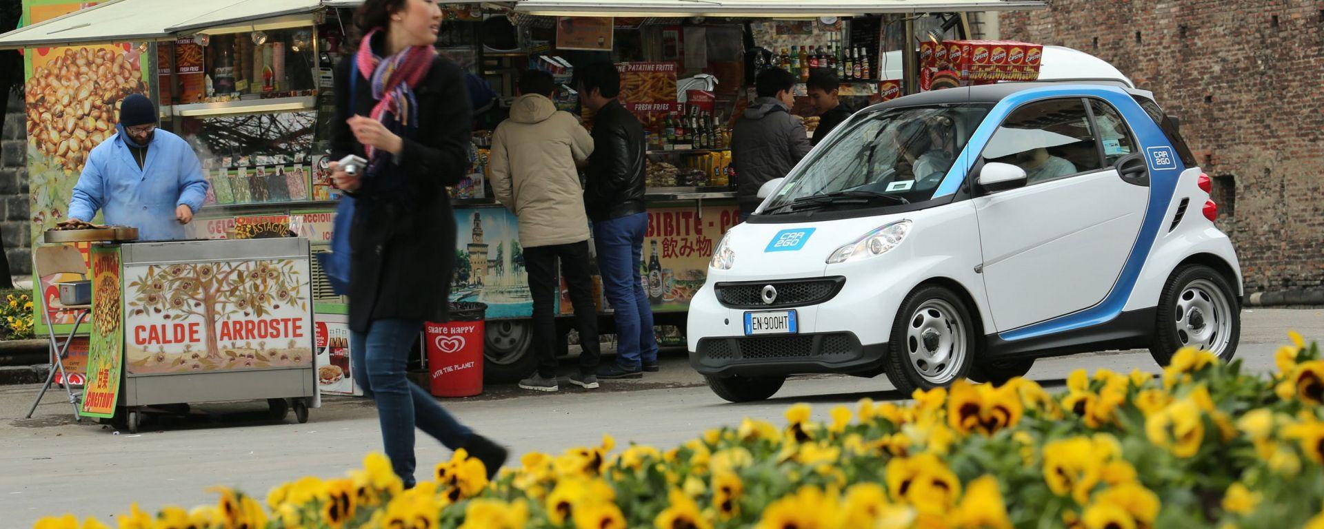Car2go: nuove regole per il rilascio delle Smart