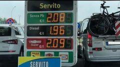 Benzina e diesel, prezzi ai massimi. Le previsioni per l'estate 2018