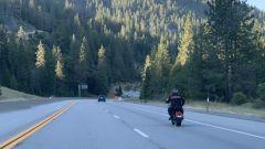Cardenas in sella alla sua Harley-Davidson elettrica