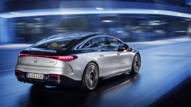 Carenza semiconduttori: per un modello Mercedes come EQS anche più di un anno di attesa