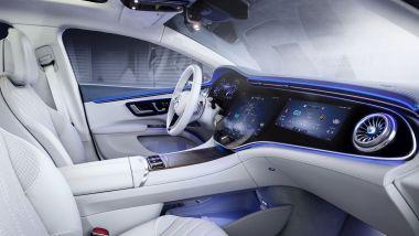 Carenza semiconduttori: un'auto tecnologica come la EQS subirà ritardi nelle consegne
