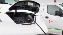 Caricare la batteria sui Nissan e-NV200 per DPD