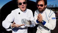 Carlo Cracco, guida gastronomica della Audi TT - Immagine: 1