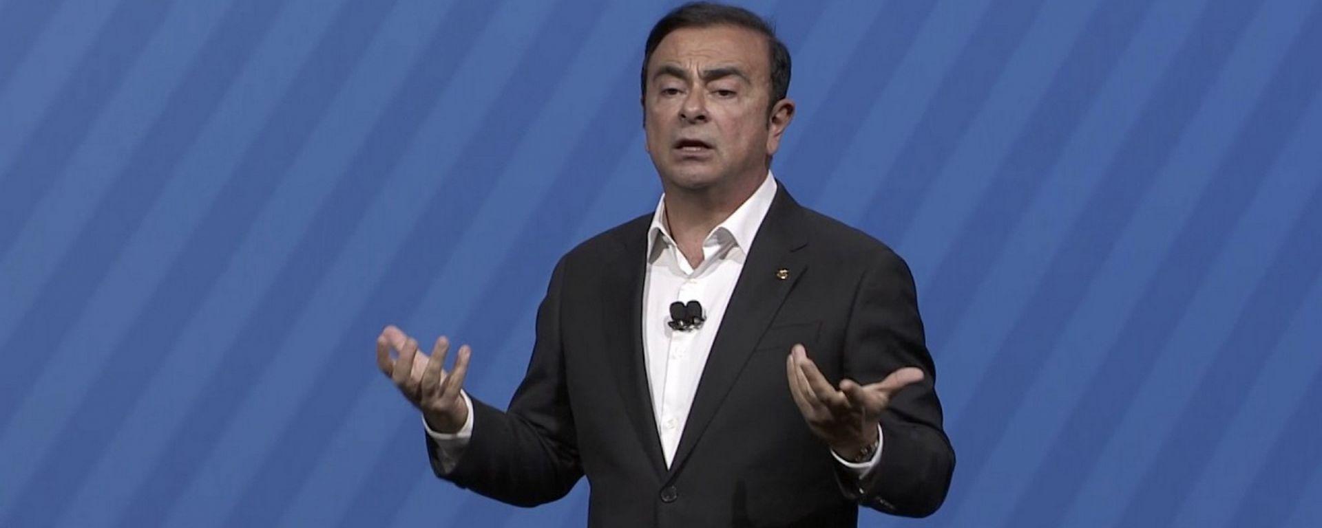 Carlos Ghosn, Ceo dell'Alleanza Renault-Nissan