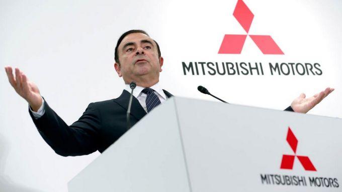 Carlos Ghosn scaricato anche da Mitsubishi