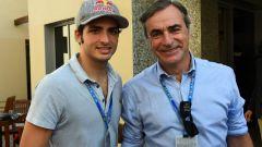 Carlos Sainz Jr assieme al padre
