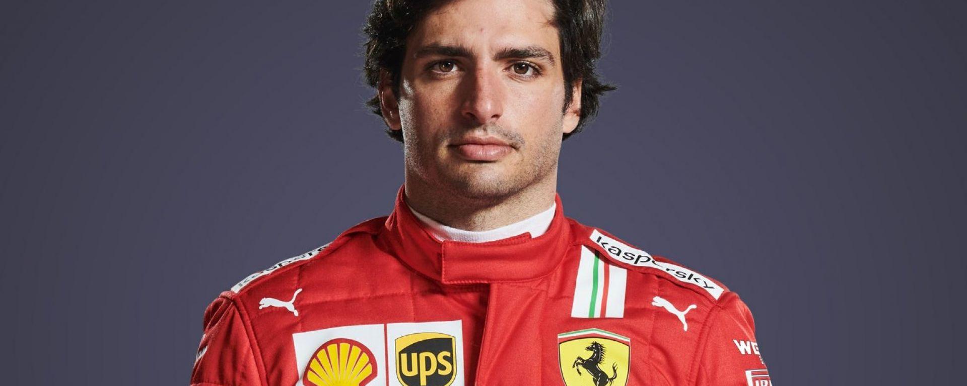 Carlos Sainz Jr #55 F1 2021