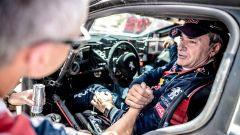 Carlos Sainz - Pilota Peugeot, decimo classificato al Rally del Marocco 2017