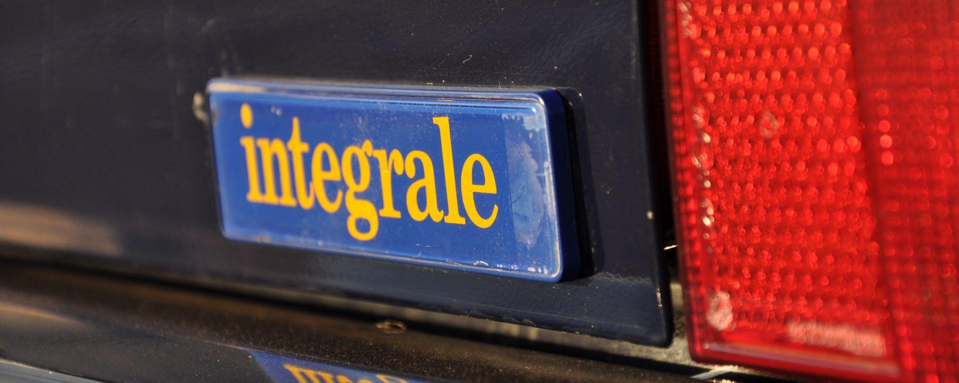 Carrozzeria ed esterni della Lancia Delta HF Integrale