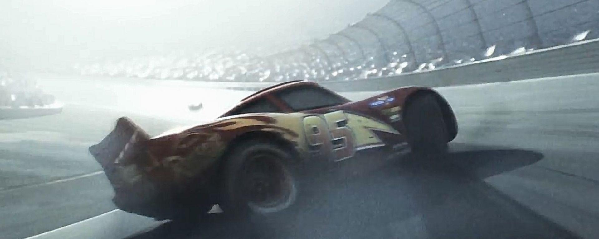 Cars 3: Disney e Pixar rilasciano il primo trailer ufficiale