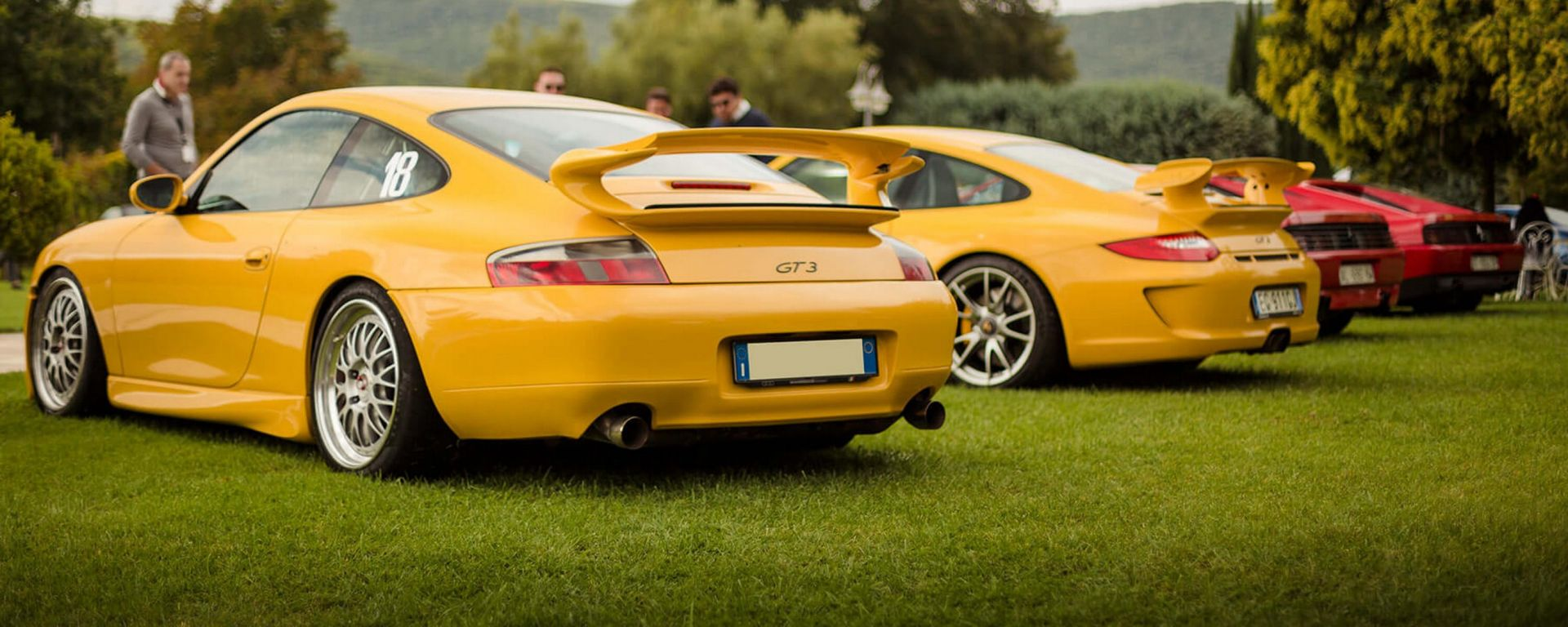 Cars and Coffee: Porsche 996 e 997