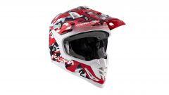 Casco Kappa K39 Army, colorazione glossy red/white