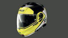 Casco Nolan N 100-5 PLUS nella colorazione gialla e nera
