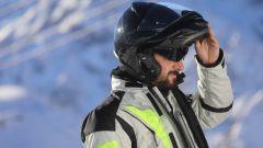 Casco Premier Carbon Tour Full Carbon: la mascherina scura a scomparsa