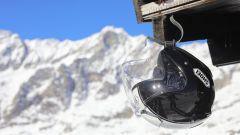 Casco Shoei J-Cruise Black White: visierino parasole e predisposizione per il Pinlock