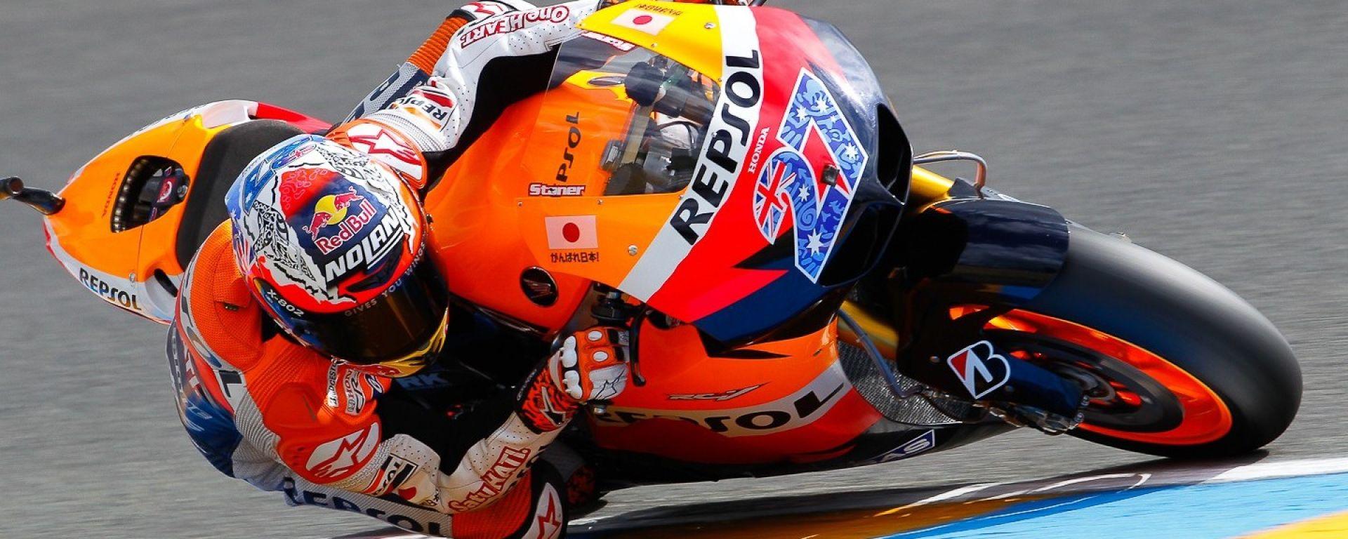Casey Stoner e la MotoGP
