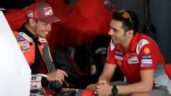 Casey Stoner insieme a Michele Pirro