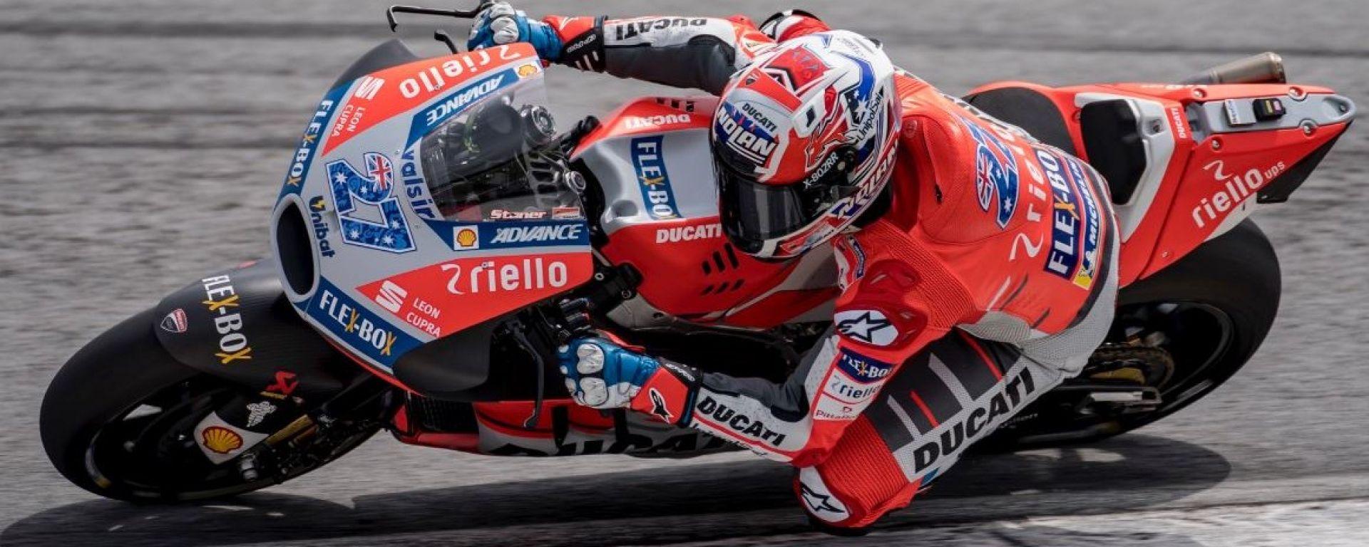 MotoGP, Test Sepang 2018, Day 2: Casey Stoner fa volare la nuova Ducati - MotorBox