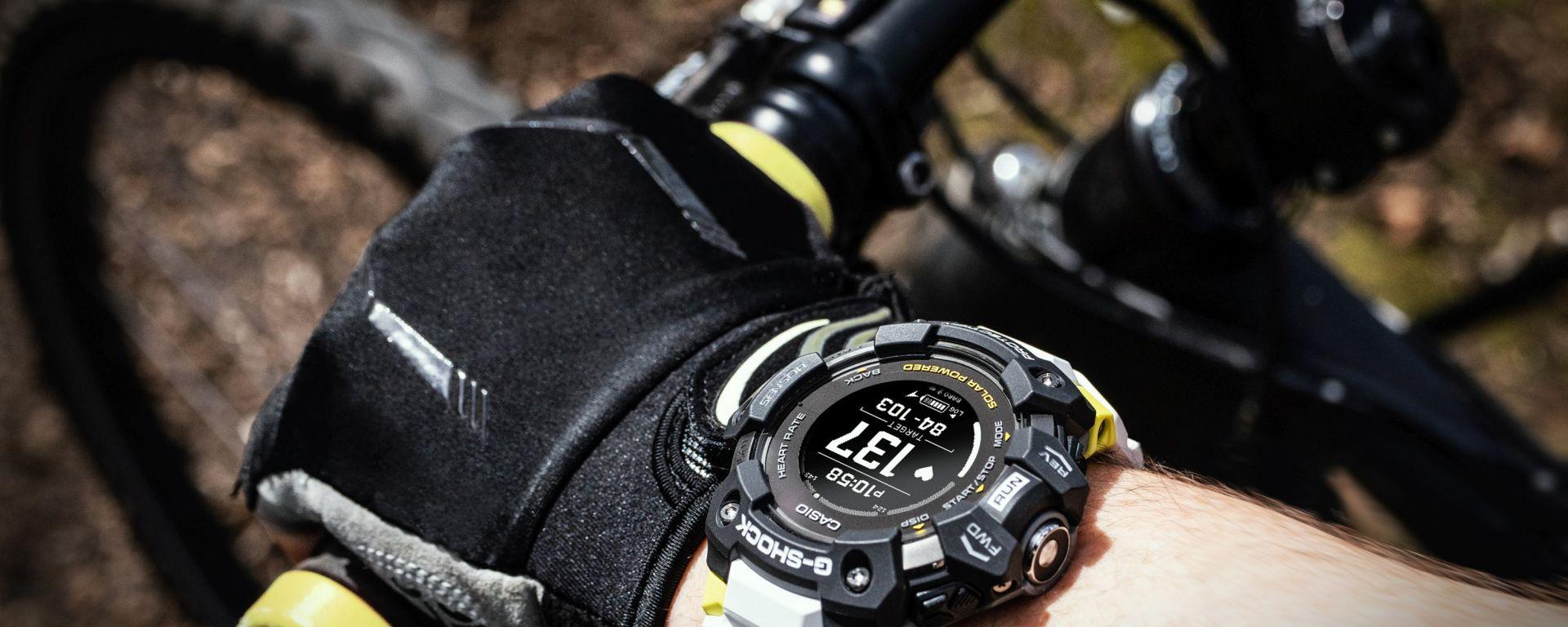 Casio G-Shock GBD-H1000: in bicicletta