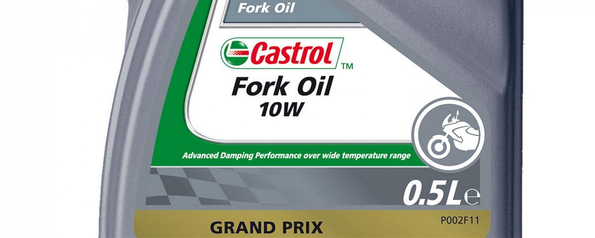 Castrol: fluidi per forcelle e ammortizzatori
