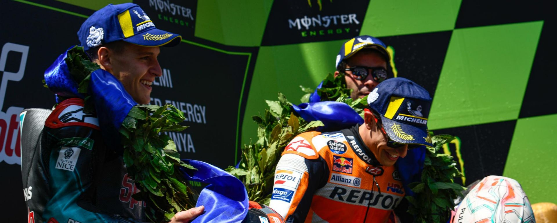 "Catalunya, Marquez: ""Molto molto molto più facile vincere così"""