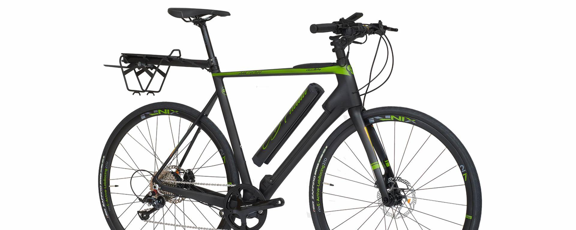 C.B.T. UB77, la nuova e-bike da città in carbonio