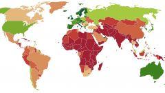 Cellulari: il loro uso nel mondo (fonte Wikipedia)