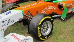 Cerchi BBS su una monoposto di Formula 1