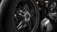 Cerchi in carbonio sulla Ducati Panigale V4 SP