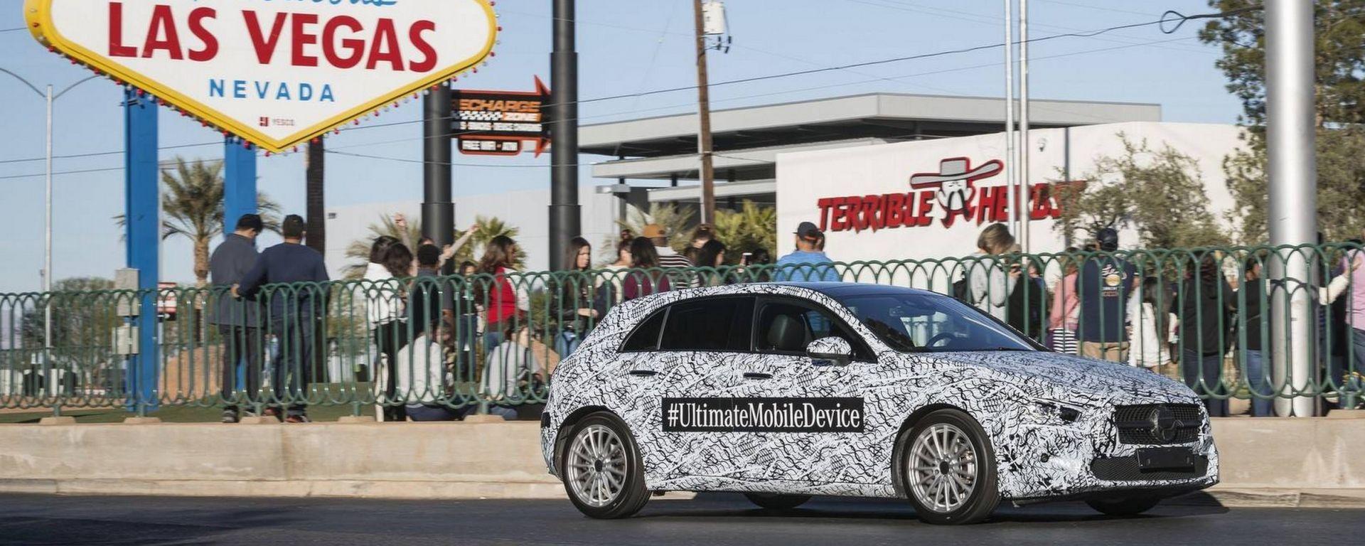 CES 2018: l'assistente virtuale con nuova Mercedes Classe A