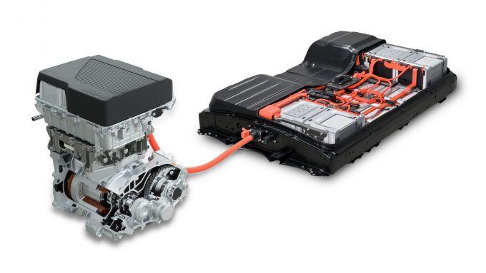 Nissan Leaf 2019, batterie da 62 kWh