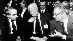 Cesare Romiti: con Giuliano Amato e Gianni Agnelli