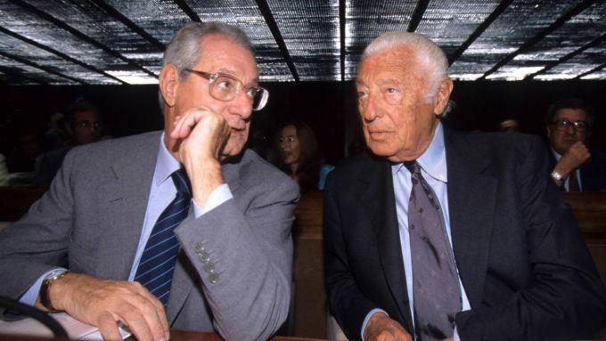 Cesare Romiti insieme a Gianni Agnelli