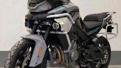 """CF Moto MT800: la versione """"stradale"""""""