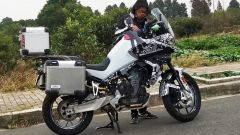 CFMoto MT800: la Adventure bike spinta dal motore KTM