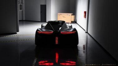 Chaos by Spyros Panopoulos Automotive Perfection, tutte le luci del posteriore