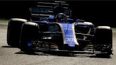 Charles Leclerc al volante della Sauber C36