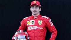 Charles Leclerc alla vigilia della stagione 2019