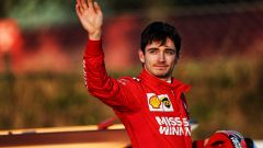 Charles Leclerc è al debutto ufficiale con la Ferrari