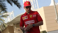 Charles Leclerc è alla seconda gara con la Ferrari