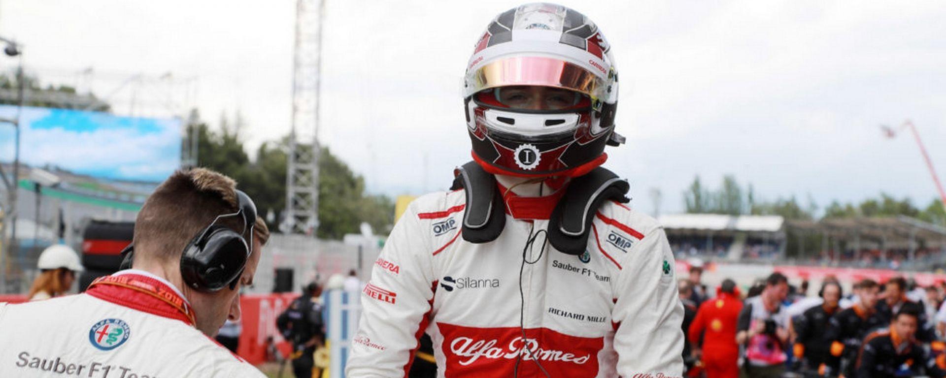 Charles Leclerc è all'esordio in F1, ma ha già fatto vedere numeri importanti