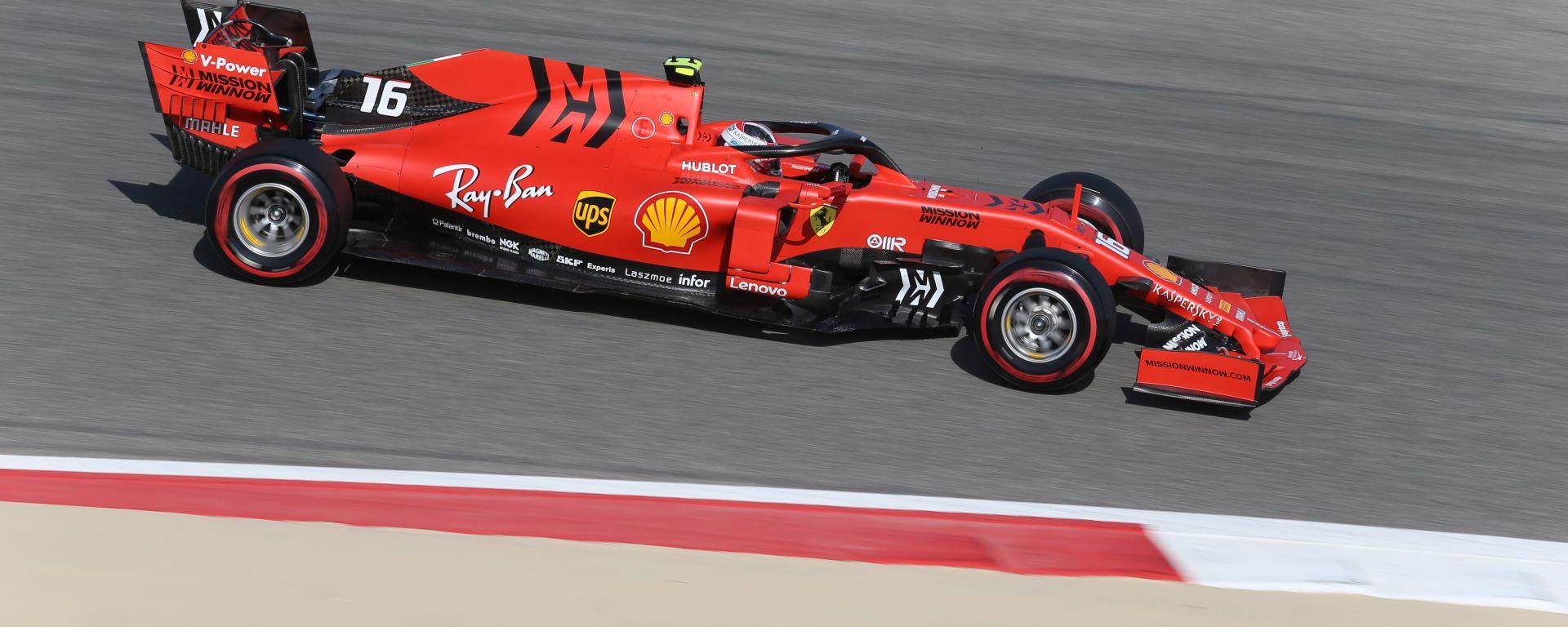 Charles Leclerc è il più rapido al termine delle PL3 Gp Bahrain 2019