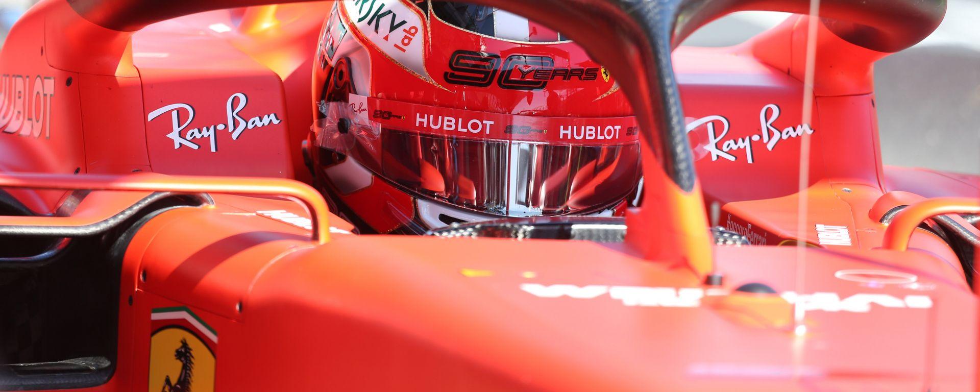 Charles Leclerc è il più veloce di tutti nella prima sessione di prove libere del GP Bahrain 2019
