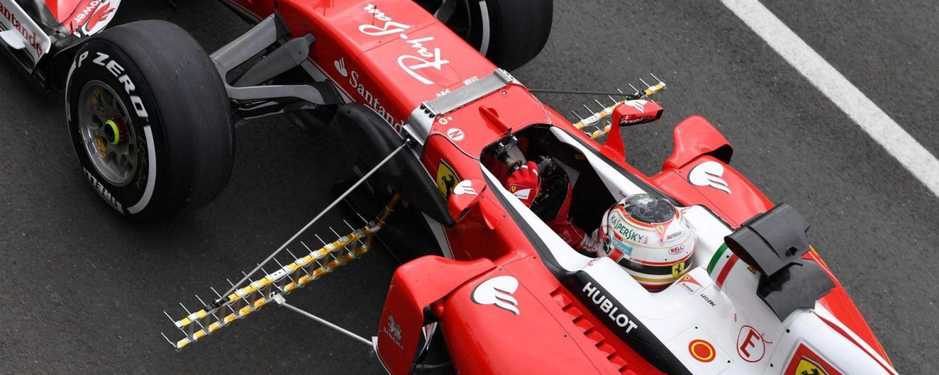 F1 Ferrari: problemi per Leclerc nei test di Silverstone