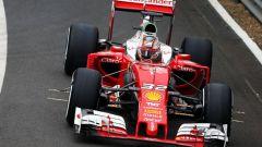 Charles Leclerc in azione sulla Ferrari SF16-H